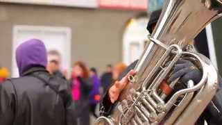 "Ретро-автопробег с ""Сибирским диксилендом"" Sib Jazz Fest 2014"