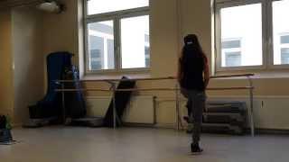 Jennifer Hudson-Pillows, lyrical dance