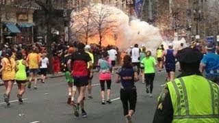 Boston Marathon Explosions Video: Two Bombs Near Finish Line