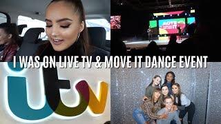 Weekly Vlog 26- I WAS ON ANT & DEC'S SATURDAY NIGHT TAKEAWAY (behind the scenes @ ITV)    Adina May