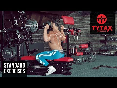 TYTAX® M1   Lever Seated Shoulder Press