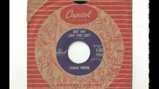 Faron Young ~ There's Not Any Like You Left