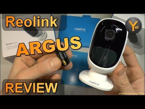 Review: Reolink Argus / Kabellose Full HD IP Kamera mit Li-Ion Batterie