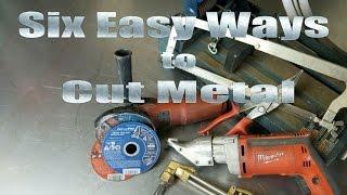 Home MetalShop Tips 101 6 Easy Ways How To Cut Metal