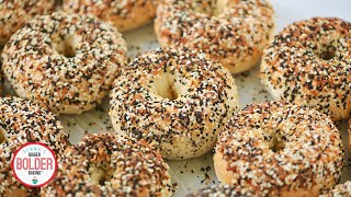 Watch How Easy It Is To Make New York Style Bagels At Home