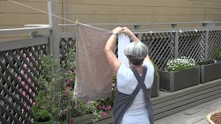 Linen Care Made Easy! Tricia Shows You How To Care For Your Linens.
