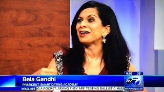 "Bela Gandhi on ABC TV Chicago about coming ""Valentine's Day."""