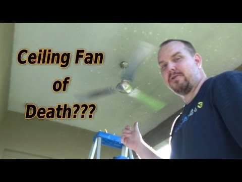 Review Install Westinghouse Industrial 56″ Three-Blade Ceiling Fan