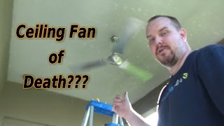 """Review Install Westinghouse Industrial 56"""" Three-Blade Ceiling Fan"""