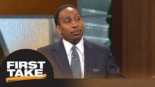 Stephen A.'s epic rant on idea of Suns trading No. 1 pick for Kawhi Leonard | First Take | ESPN - Video Youtube