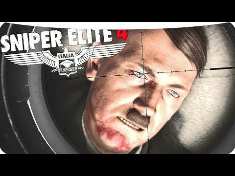 Sniper Elite 4 Нам нужно уничтожить Адольфа Гитлера!