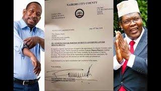 Nairobi governor Mike Sonko nominates Miguna Miguna as his deputy