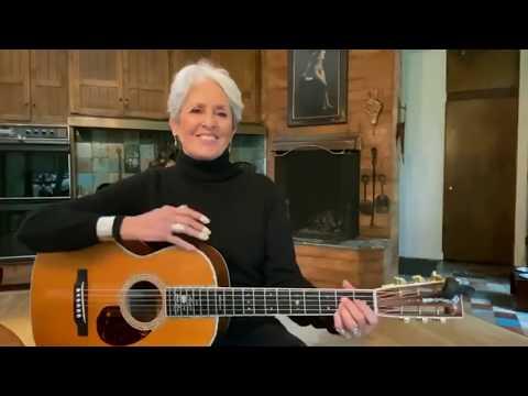 """Joan Baez canta per l'Italia """"Un mondo d'amore"""""""