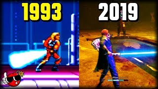 History of Lightsabers in Star Wars Games 1983 - 2020