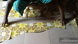 How to cut Six pieces bustier fitted dress without cut PART 1(the needle woman tailor class)