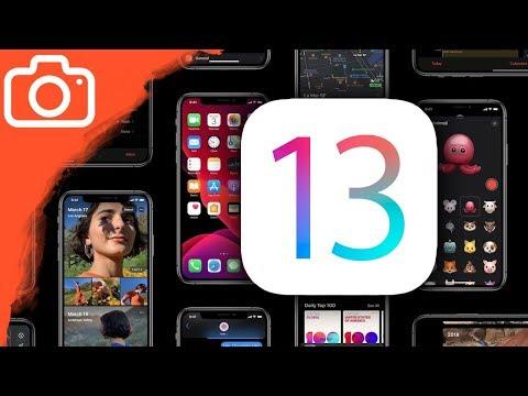 Představení a nové funkce v iOS 13 na iPhonu XS