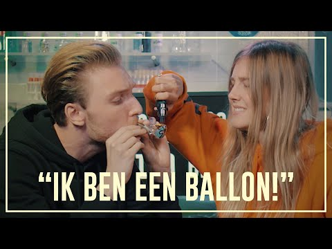 Bastiaan floats like a balloon after taking salvia | Drugslab