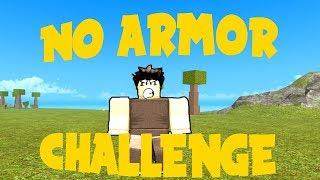 NO ARMOR CHALLENGE | Booga Booga