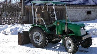 Обзор на самодельный полноприводный трактор