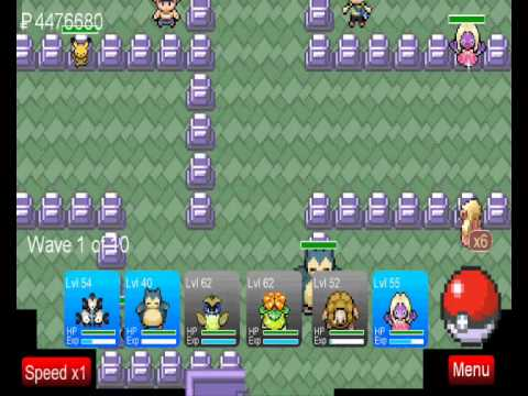 pokemon tower defense how to catch pokemon