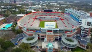 Ben Hill Griffin Stadium Florida Gators DJI Mavic Pro 4K