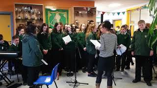 MCC Choir at Senior Assemby