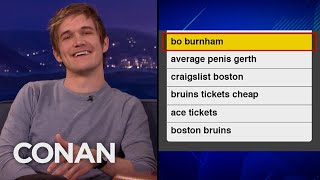 Bo Burnham's Dad's Awkward Google History - CONAN on TBS