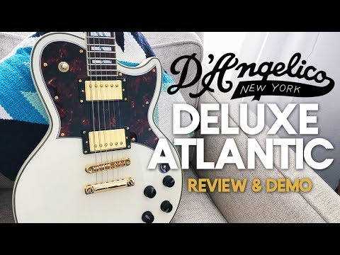 D'Angelico Deluxe Atlantic Guitar [Demo & Review]