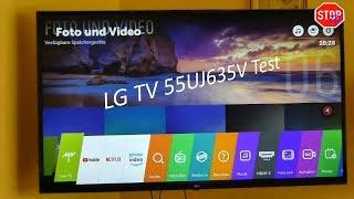 LG 55UJ635V 4K UHD TV Unboxing und Erfahrung