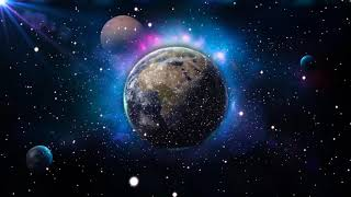 Earth space background video | space earth background video effects hd | Royalty Free Footages