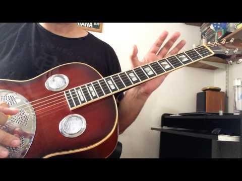 Guitarra Resonador de Pablo Fiorucci Luthier