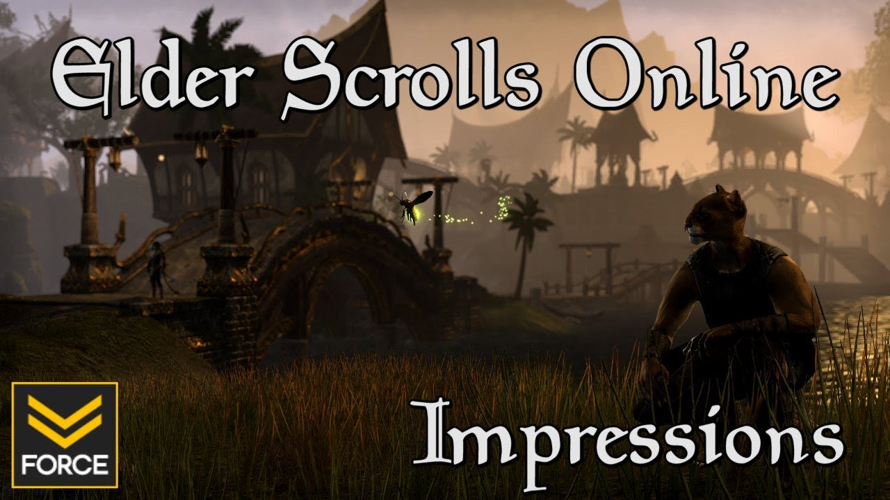 Elder Scrolls Online: видео - Force Plays ESO: Game Impressions From PAX East 2013