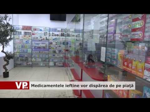 Medicamentele ieftine vor dispărea de pe piață