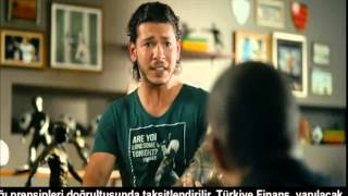 Türkiye Finans Faal Kart   Alex Ve Samet Güzel Reklamı