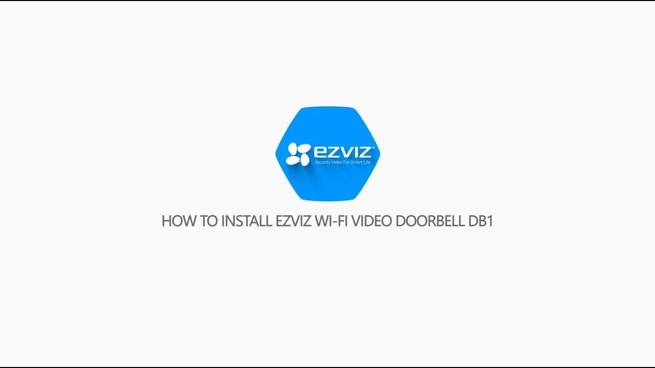 Ezviz by Hikvision DB1 Wifi video deurbel - Wit - 3 Megapixel camera