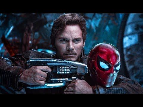Avengers Vs Guardians Of The Galaxy Titan Fight Scene (In Hindi) - Avengers Infinity War