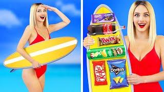 12 สุดยอดวิธีในการแอบกินอาหารในสระว่ายน้ำ||เคล็ดของอัจฉริยะและเคล็ดลับแปลกๆ สำหรับคุณโดยRATATA!