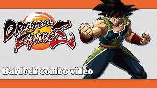 DBFZ: Bardock combo video (100% compilation)