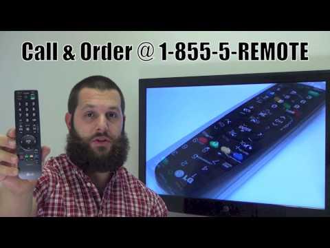LG AKB69680401 TV Remote Control