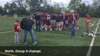 Ridgewood celebrates North, Group 4 title