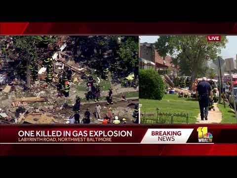 Numerous seniors being treated after Baltimore explosion