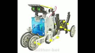 Конструктор на солнечных батареях Educational Solar Robot от компании Всякие штучки - видео