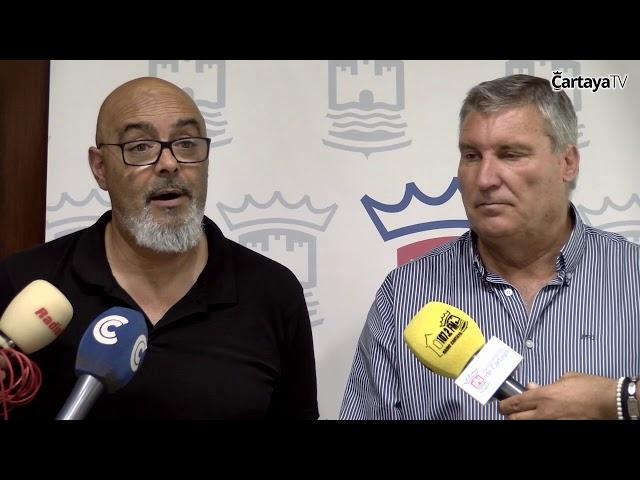Firma del Convenio entre el Ayuntamiento de Cartaya y el Ateneo Musical Cartayaero 2018