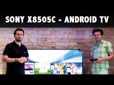 Test Fernseher Sony X8505C Android TV Modell 2015
