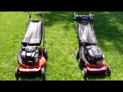 Snapper Lawn Mower Review Model P217018BV and FRP2167517BV – April 21, 2017