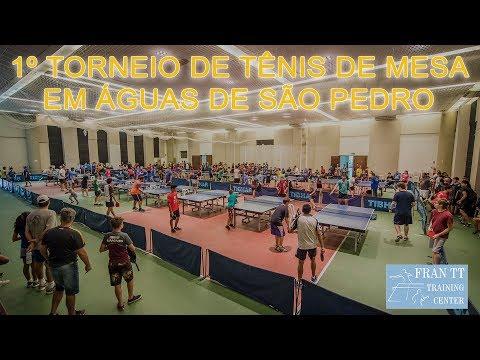 1º Torneio Aberto de Águas de São Pedro de Tênis de Mesa