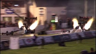 Top Fuel Dragster Qualifying - NHRA New England Nationals - Friday July 6, 2018