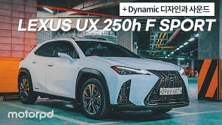 [모터피디] 역동적인 디자인과 사운드를 더했다 - 렉서스 UX 250h F SPORT 리뷰 (자동차/리뷰/시승기)