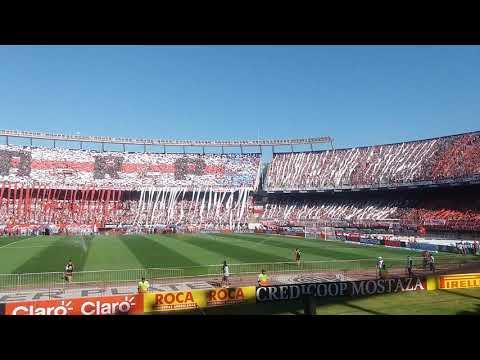 """""""Recibimiento River vs boka"""" Barra: Los Borrachos del Tablón • Club: River Plate"""