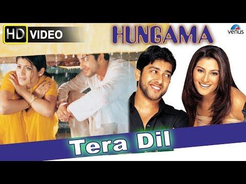 Tera Dil (HD) Full Video Song   Hungama   Aftab Shivdasani, Rimi Sen  